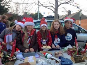 Christmas Craft Stall for the Simon Community